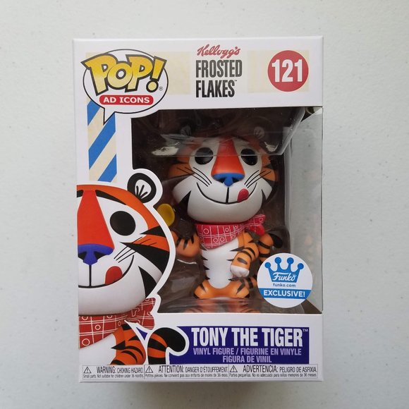 Tony The Tiger 121 Funko POP! Frosted Flakes
